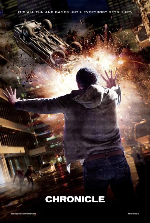 Third CHRONICLE Teaser Poster - FilmoFilia
