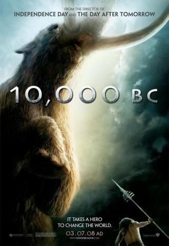 10 000 - Affiche