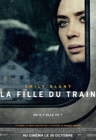 La Fille du train - Affiche