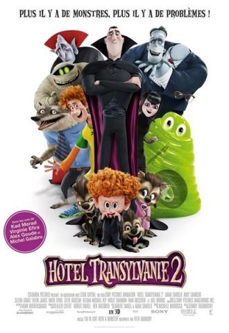 Hotel Transylvanie 2 - Affiche