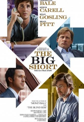 The Big Short : Le Casse du Siècle - Affiche
