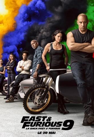 Fast & Furious 9 - Affiche