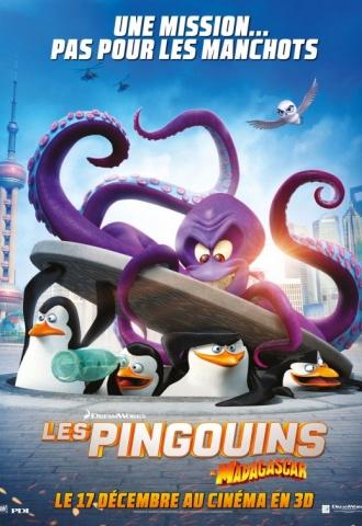 Les Pingouins de Madagascar - Affiche