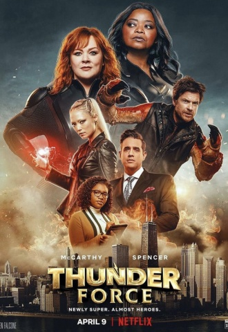 Thunder Force - Affiche