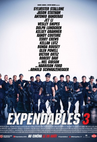 Expendables 3 - Affiche