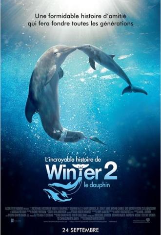 L'incroyable histoire de Winter le dauphin 2 - Affiche