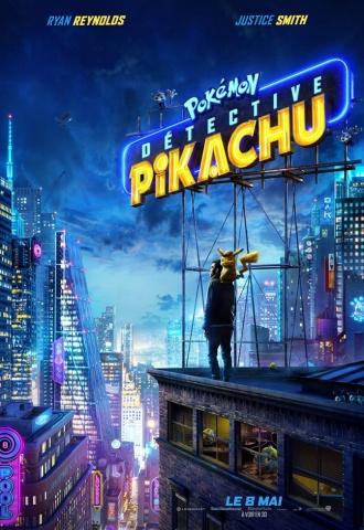 Pokemon Detective Pikachu - Affiche