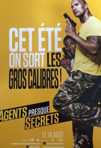 Agents presque secrets - Affiche