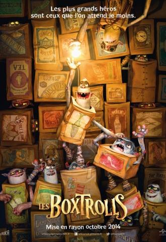 Les Boxtrolls - Affiche