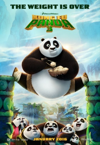 Kung Fu Panda 3 - Affiche