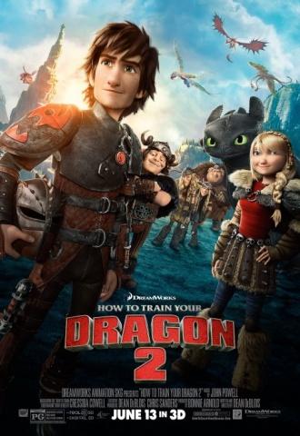 Dragons 2 - Affiche