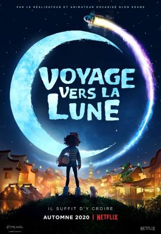 Voyage vers la Lune - Affiche