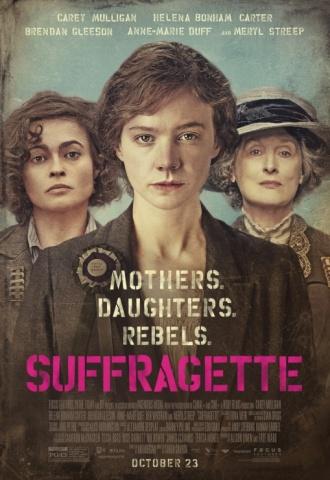 Les Suffragettes - Affiche