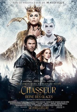 Le Chasseur et la Reine des Glaces - Affiche