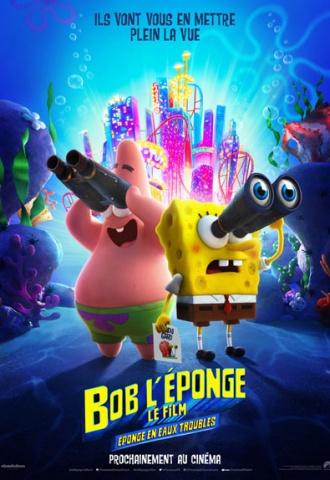 Bob l'éponge - Le Film : Eponge en eaux troubles - Affiche