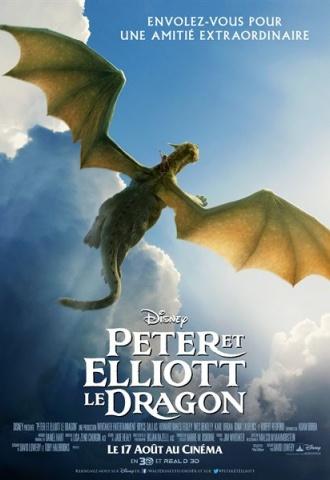 Peter et Elliott le Dragon - Affiche
