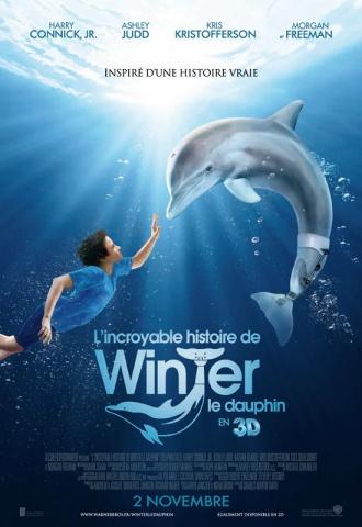 L'incroyable histoire de Winter le dauphin - Affiche