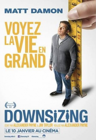 Downsizing - Affiche