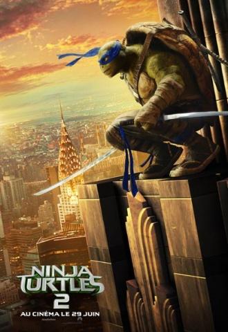 Ninja Turtles 2 - Affiche