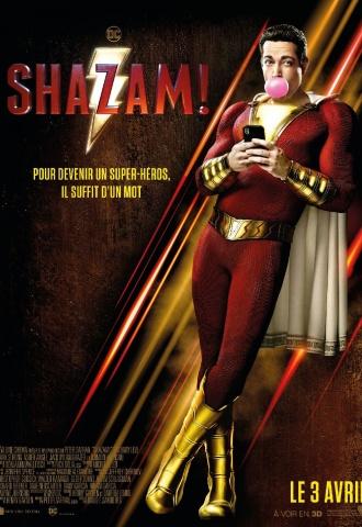 Shazam! - Affiche