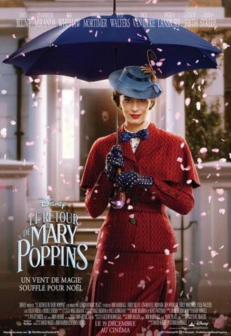 Le Retour de Mary Poppins - Affiche