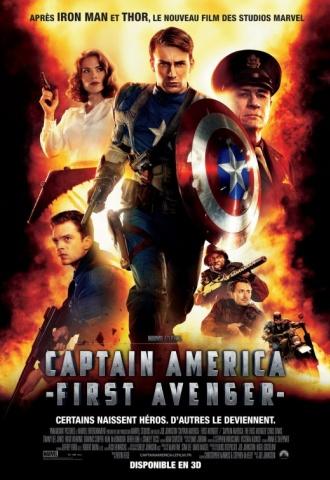 Captain America : The First Avenger - Affiche