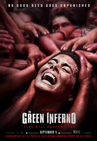 The Green Inferno - Affiche