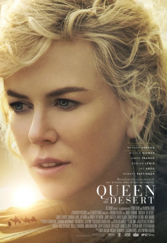 Queen of the Desert - Affiche