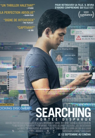 Searching - Portée Disparue - Affiche