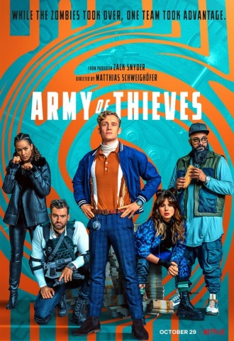 Army of Thieves - Affiche