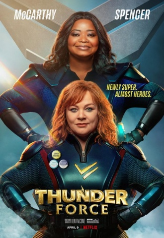 Thunder Force - Affiche