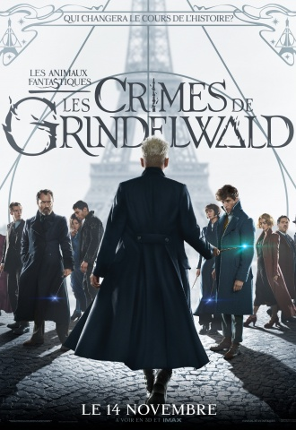 Les Animaux Fantastiques - Les Crimes de Grindelwald - Affiche