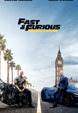 Fast & Furious : Hobbs & Shaw - Affiche
