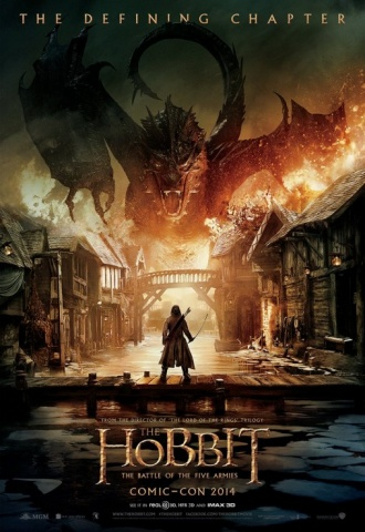 Le Hobbit : la Bataille des Cinq Armées - Affiche