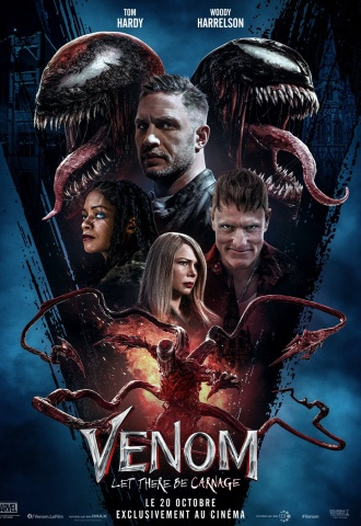 Venom : Let There Be Carnage - Affiche