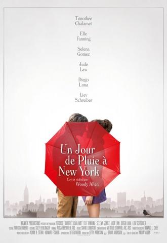 Un jour de pluie à New York - Affiche