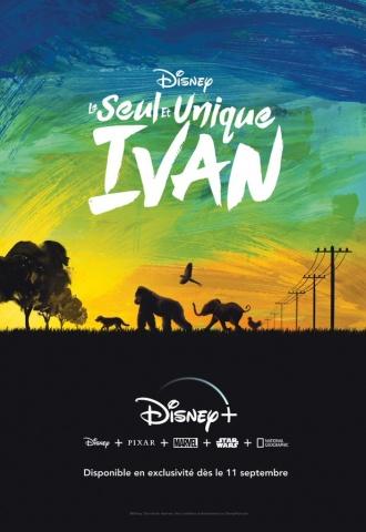 Le Seul et unique Ivan - Affiche