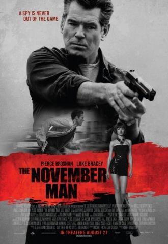 The November Man - Affiche