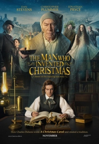 The Man Who Invented Christmas - Affiche