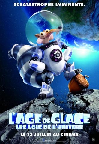 L'âge de glace : Les lois de l'Univers - Affiche