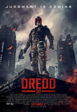 Dredd (3D) - Affiche