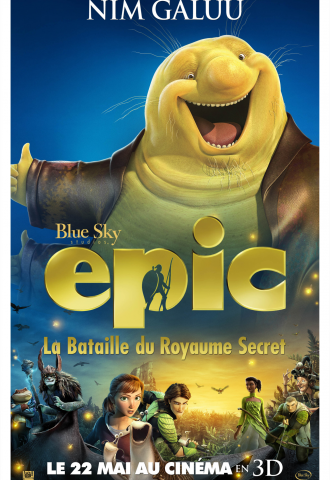 Epic : La bataille du royaume secret - Affiche