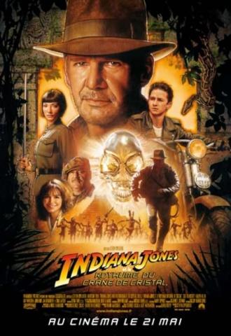 Indiana Jones et le royaume du crâne de cristal - Affiche