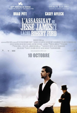 L'assassinat de Jesse James par le lâche Robert Ford - Affiche