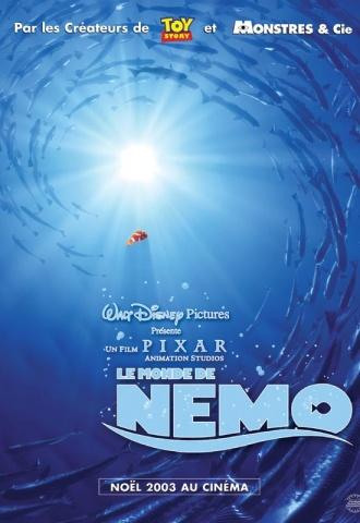 Le monde de Nemo - Affiche