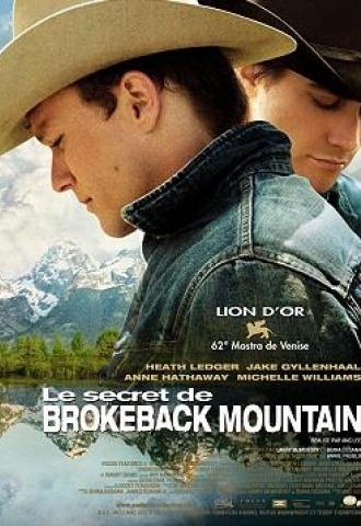 Le Secret de Brokeback Mountain  - Affiche