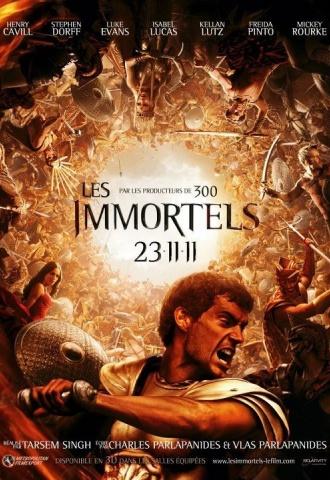 Les Immortels - Affiche