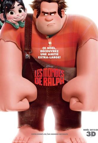 Les mondes de Ralph - Affiche