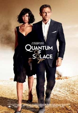 Quantum of Solace  - Affiche