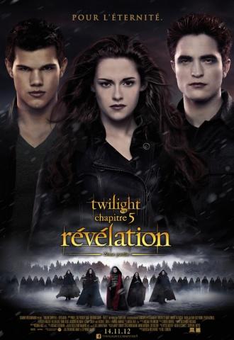 Twilight - Chapitre 5 : Révélation (2ème Partie) - Affiche